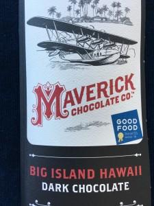 Maverick Chocolate's Good Food Awards Winning Bar with Mauna Kea Cacao
